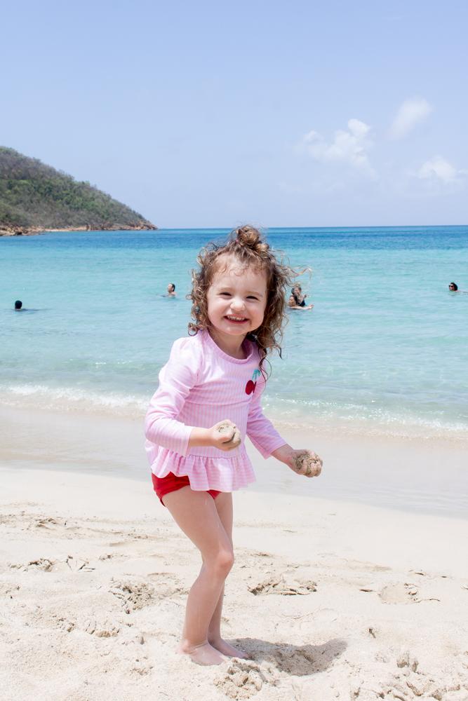 Disney Cruise Toddler on the Beach