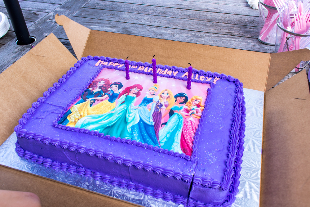 Alyssa's Cakery for Princess Cake for Ailey's Birthday Party