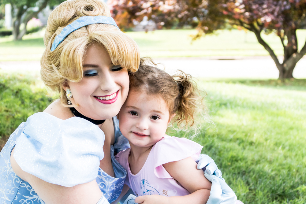 Ailey's Birthday Party with Cinderella Character Visit