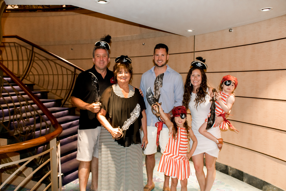 Pirate Night Disney Cruise Family Outfits