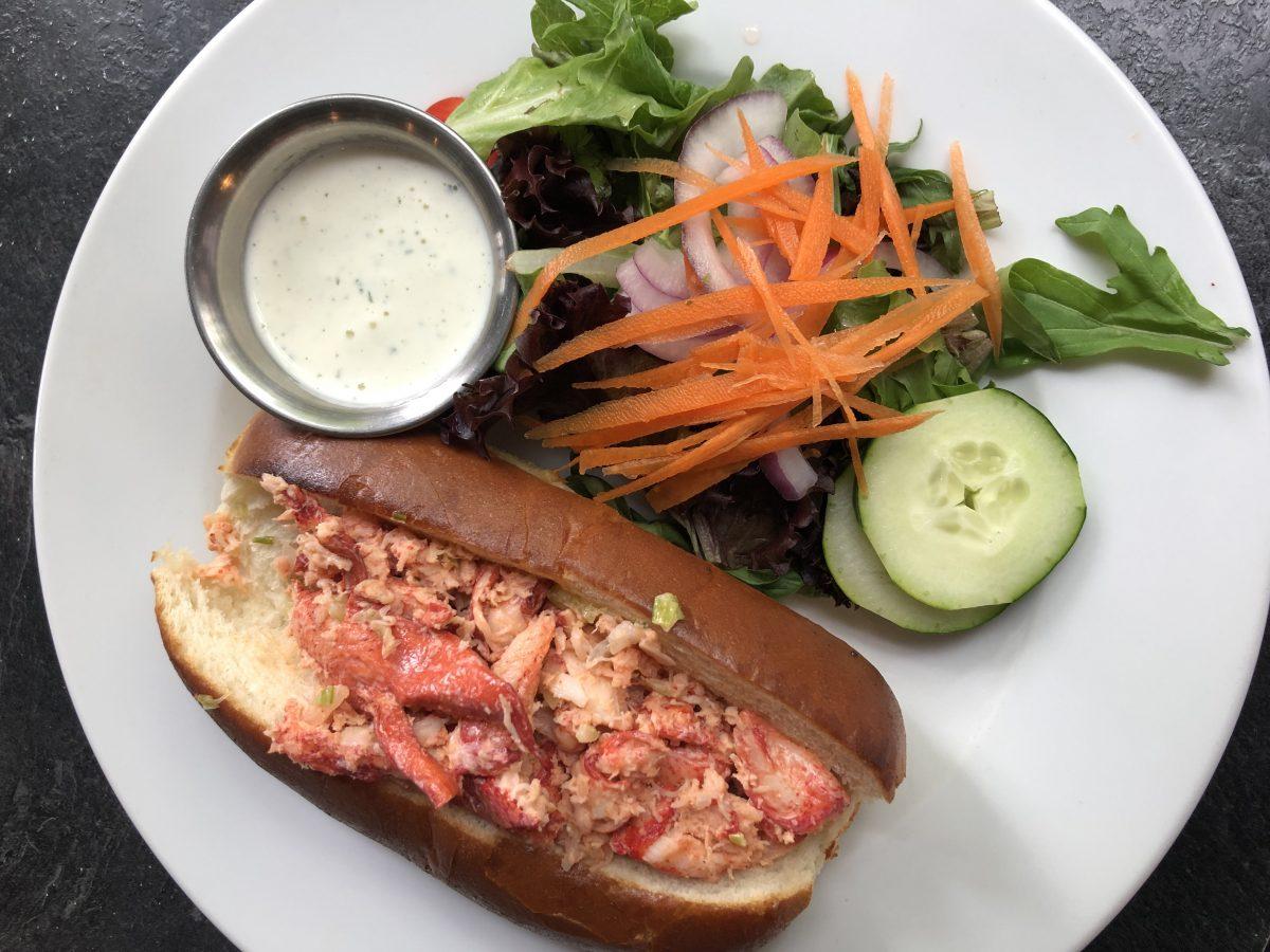 Lobster Roll Vermont Red Mill Restaurant