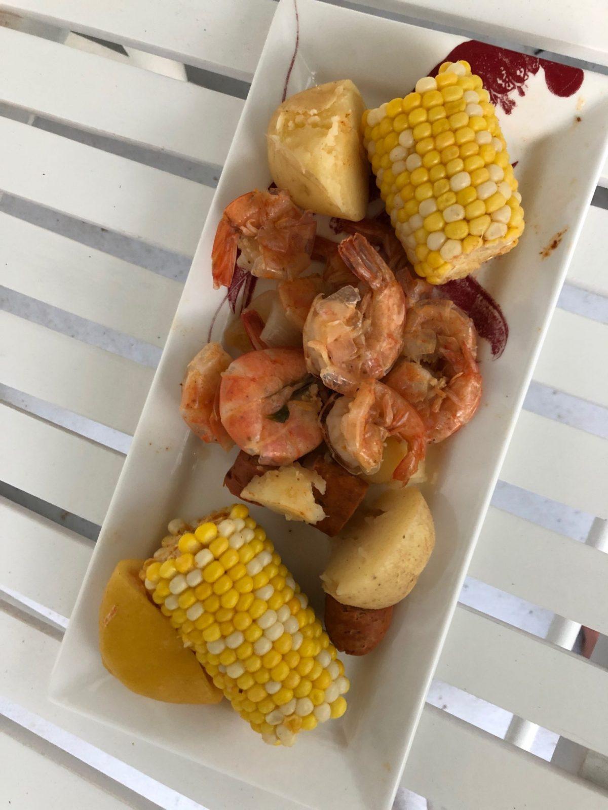 Easy Shrimp Boil Corn Potatoes Sausage