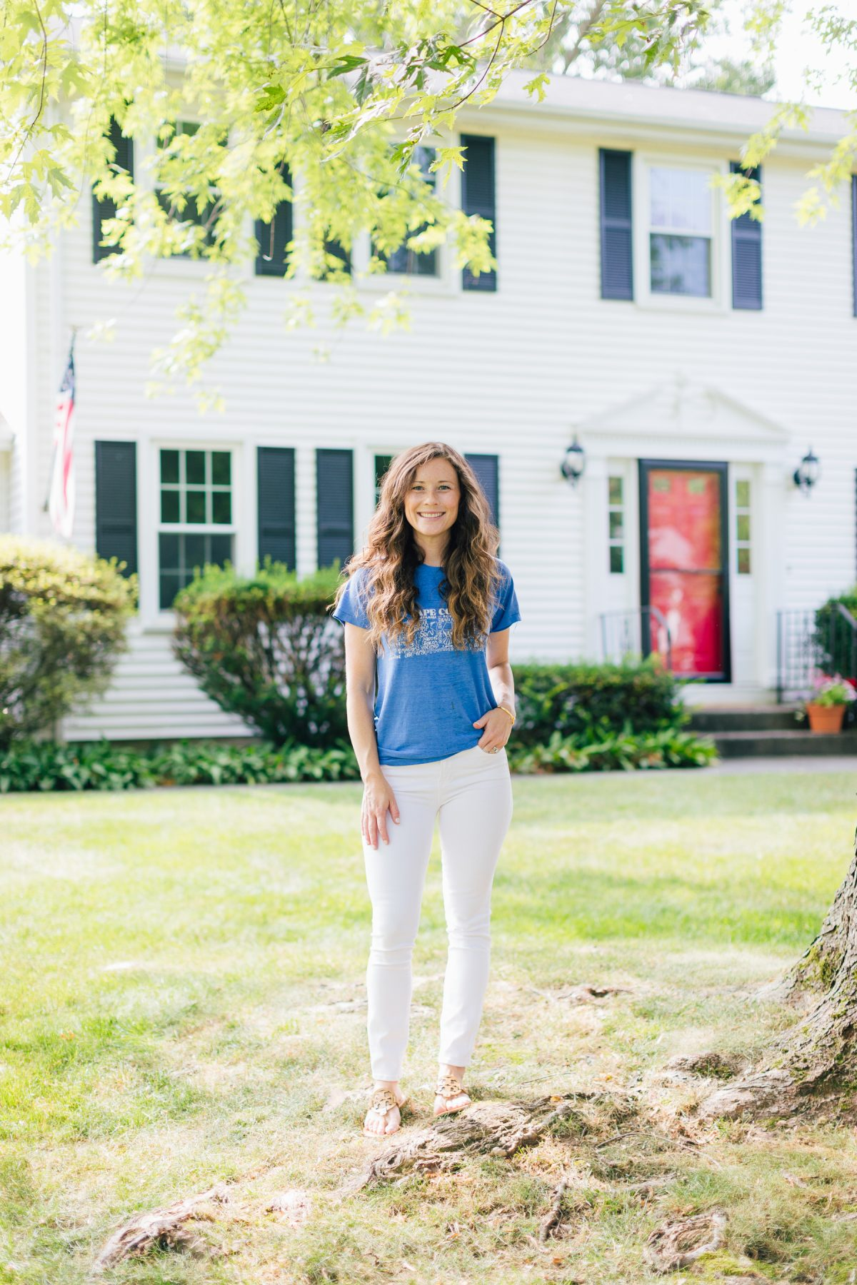 Caitlin Houston at her Home - Connecticut Based Life and Style Mom Blogger