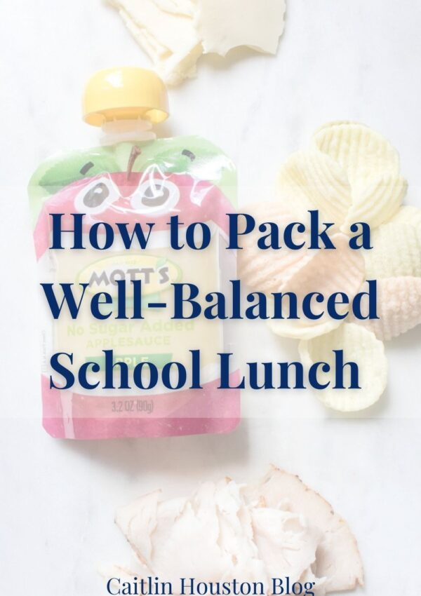 How to Pack a Well-Balanced Lunch for Your Child