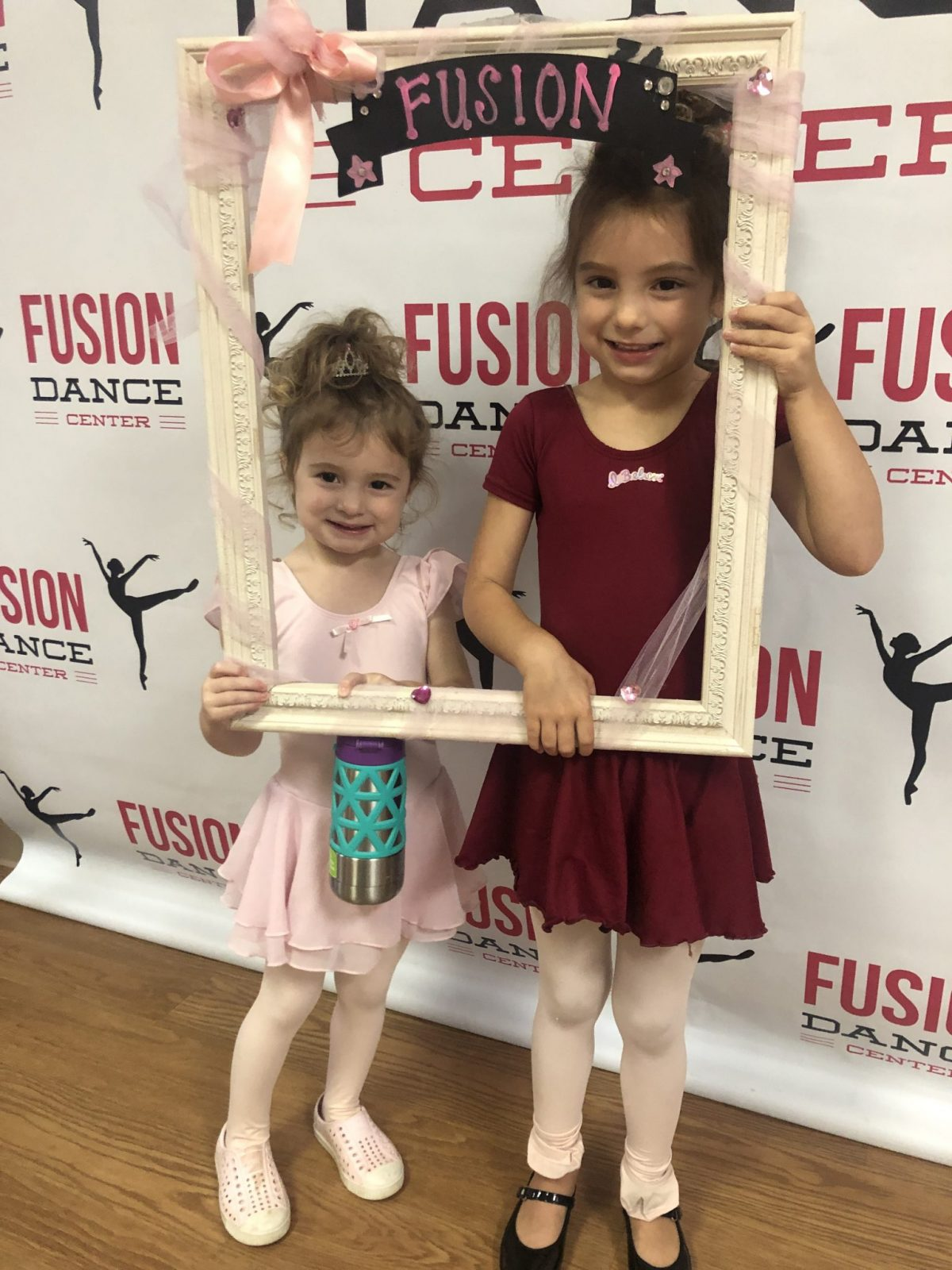 Sisters at the First Day of Dance