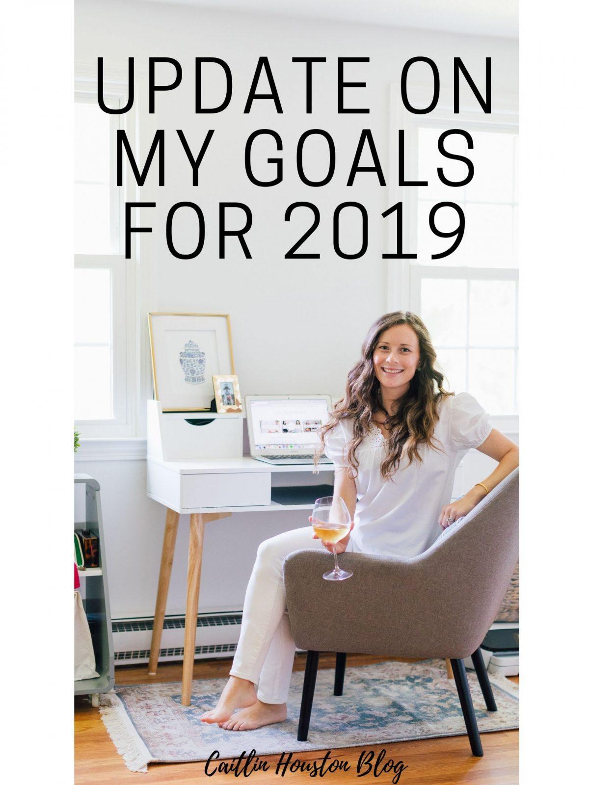 Woman Blogger Update on 2019 Goals
