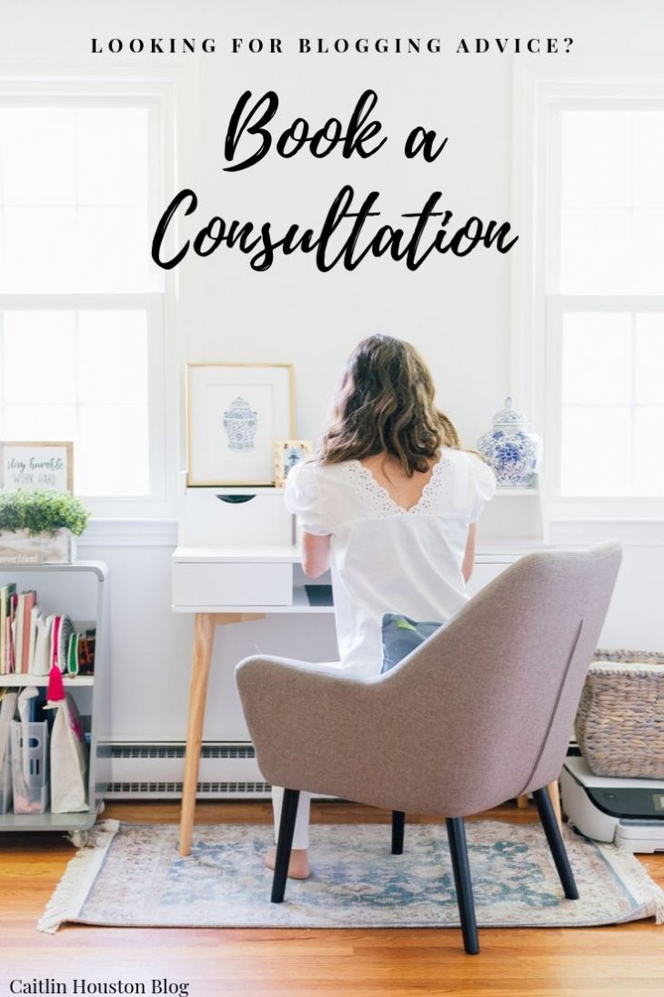 Book a Blog Consultation with Caitlin Houston