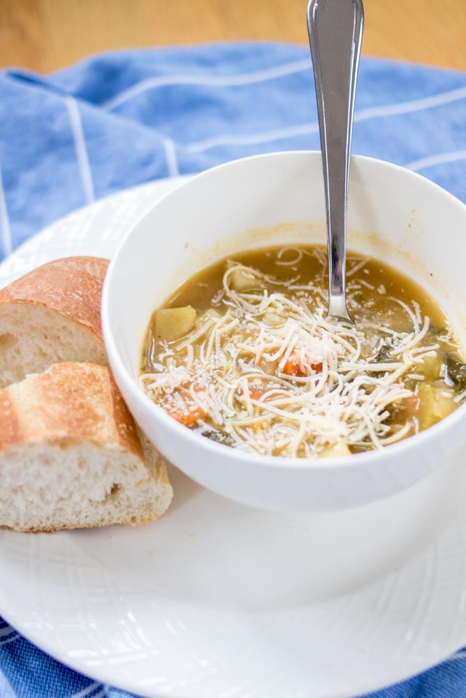 Escarole Bean Potato Soup Recipe