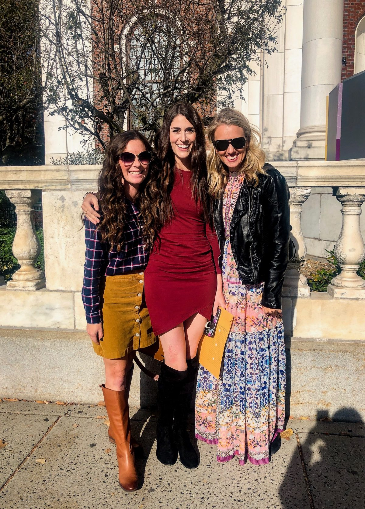 Connecticut bloggers Caitlin Houston, Kallie Branciforte, and Charlotte Smith