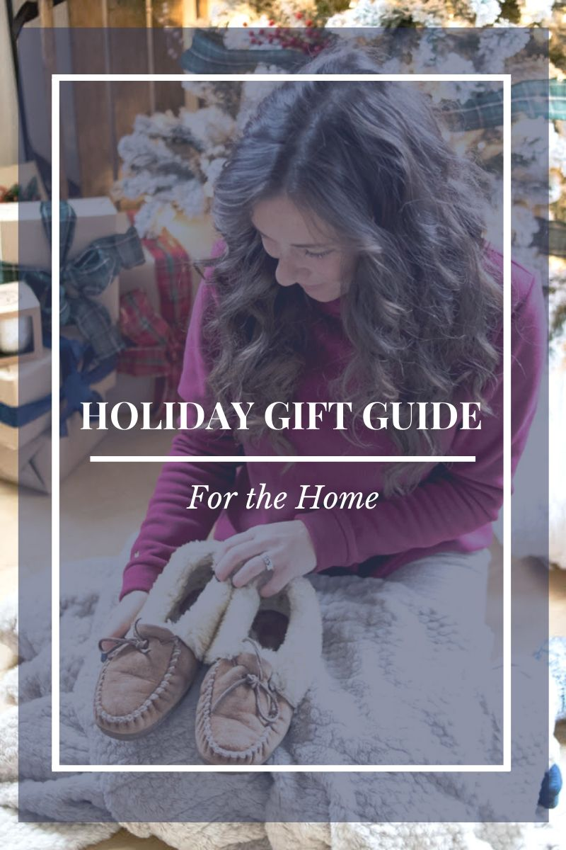 Holiday Gift Guide: Gift Ideas for the Home