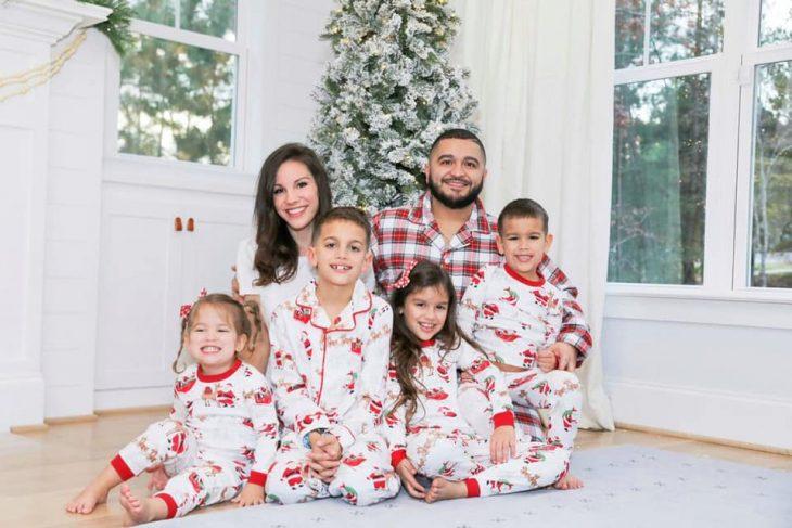 Six Person Family Christmas Pajamas