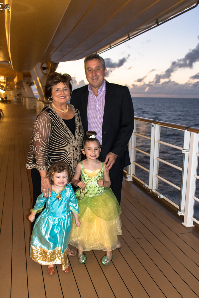 Family Photo on Disney Cruise