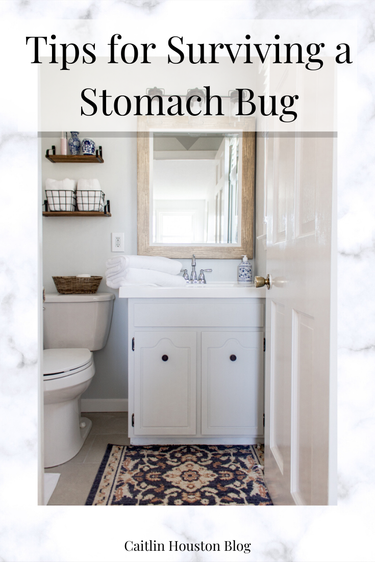 Today I'm sharing how to survive the stomach virus, with tips to avoid the stomach flu when your family has it and must-have cleaning supplies for your home.
