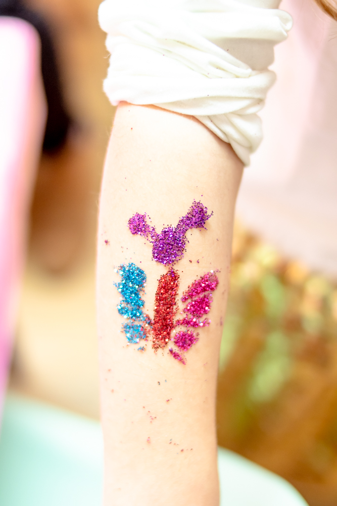 Glitter Tattoo for Kids