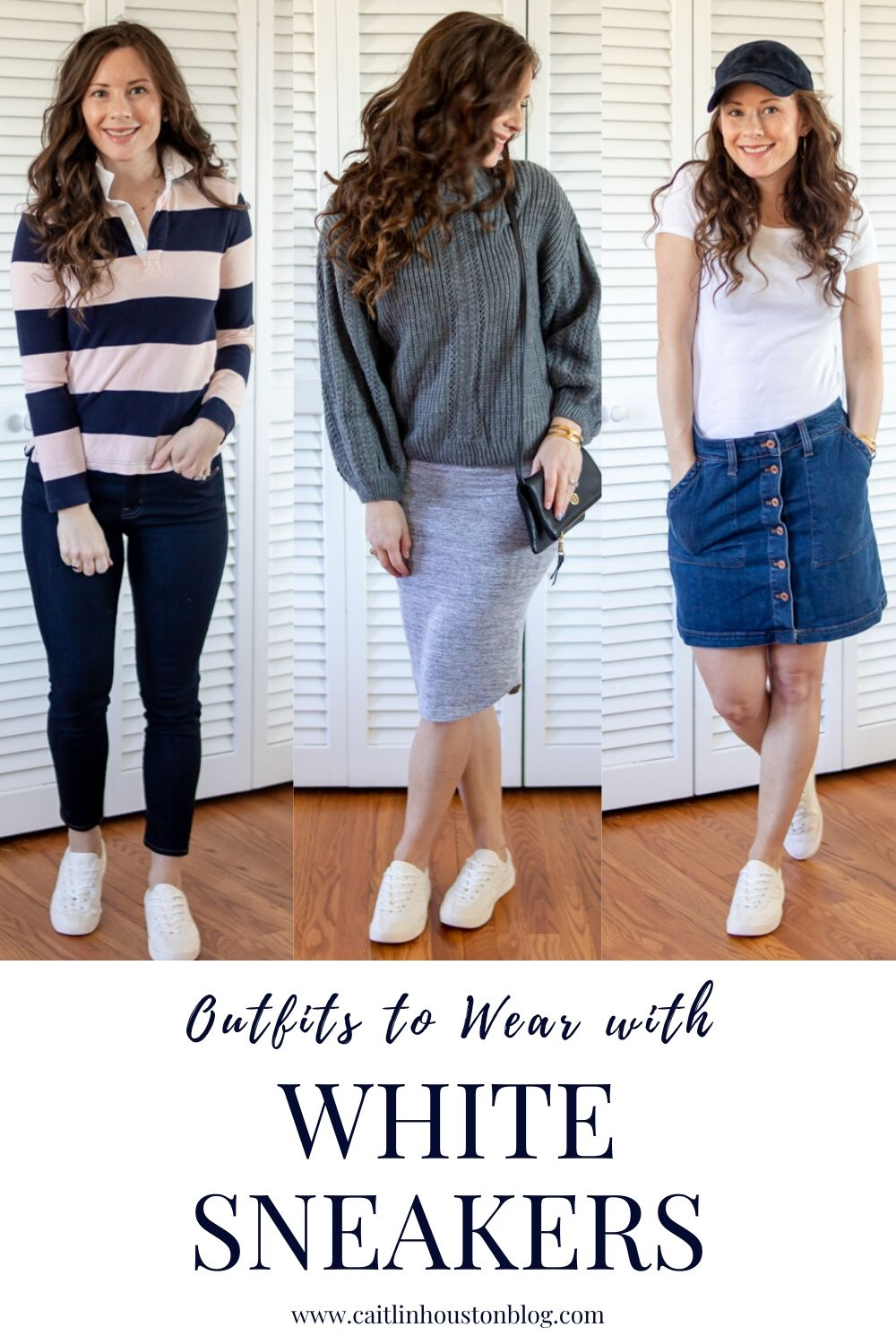 Style Session | Outfits to Wear with White Sneakers