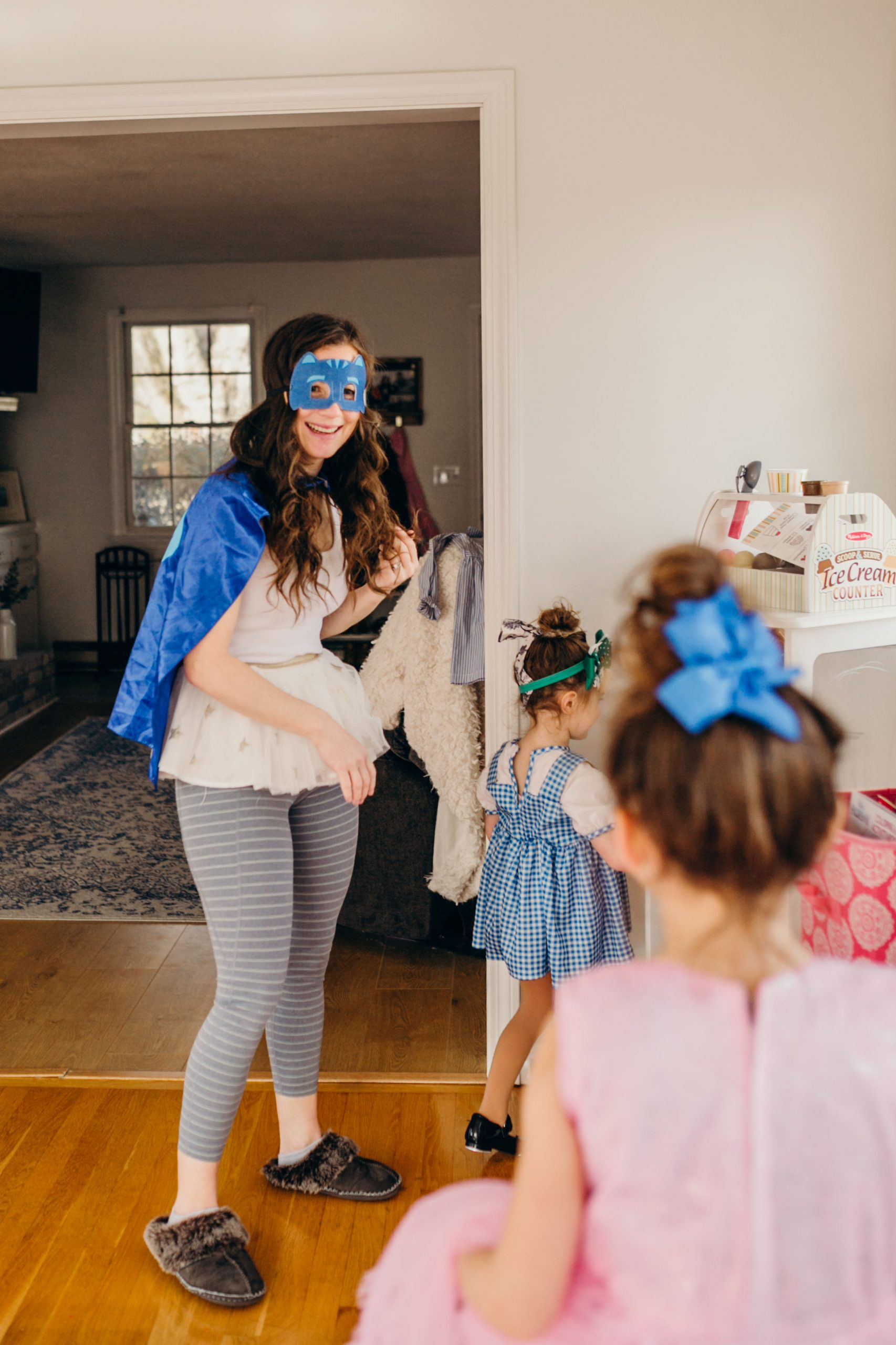 The Real Mom Behind the Super Hero Mask