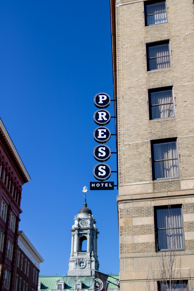 The Press Hotel in Portland Maine Exterior Building