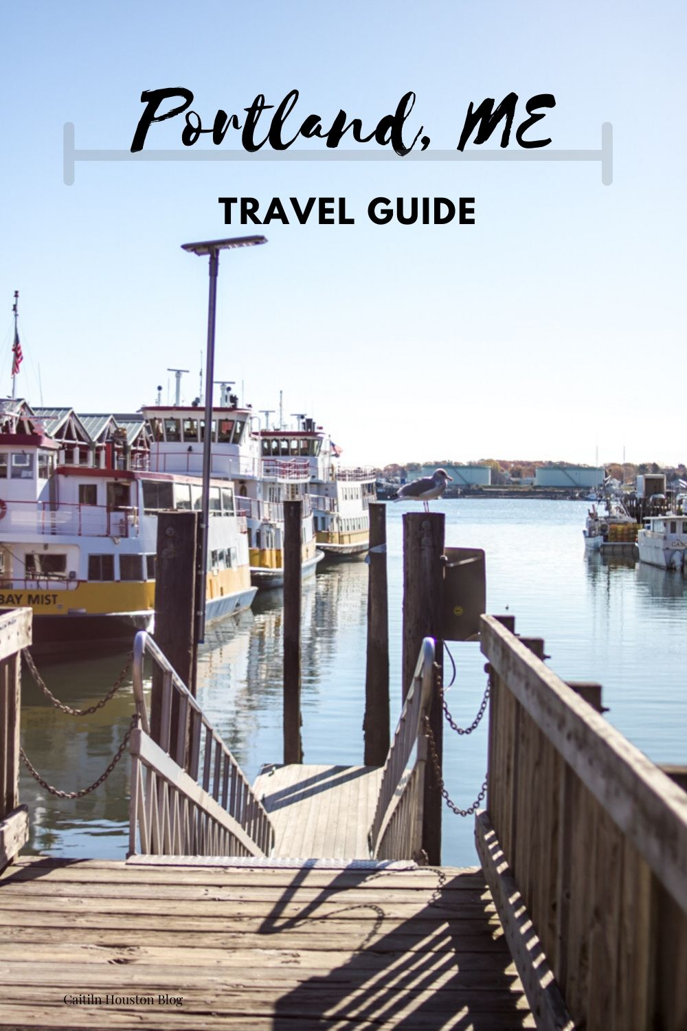 Portland Maine Travel Guide at the Habor