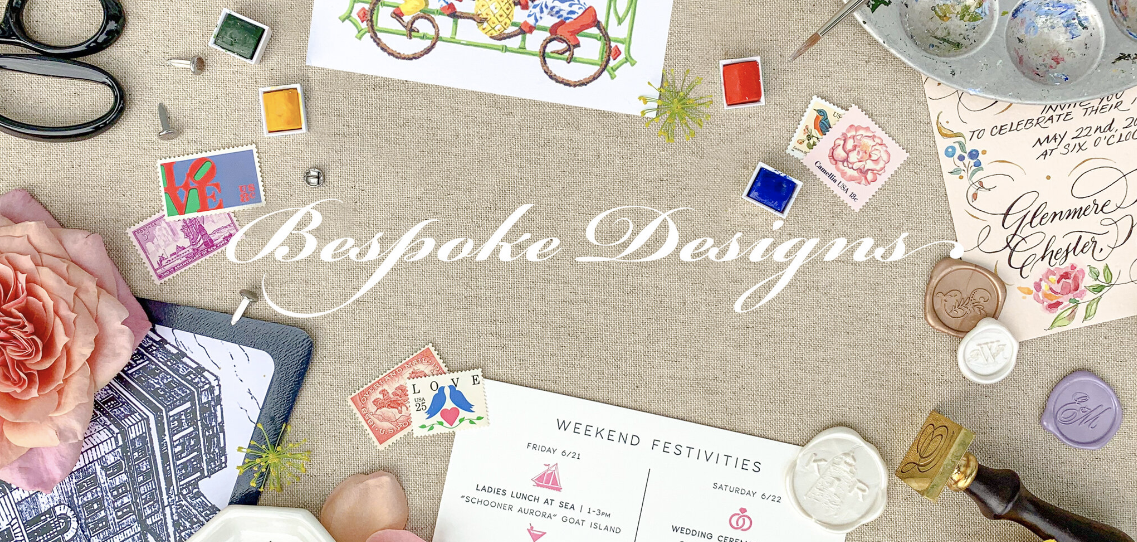 Bespoke Designs Greeting Cards
