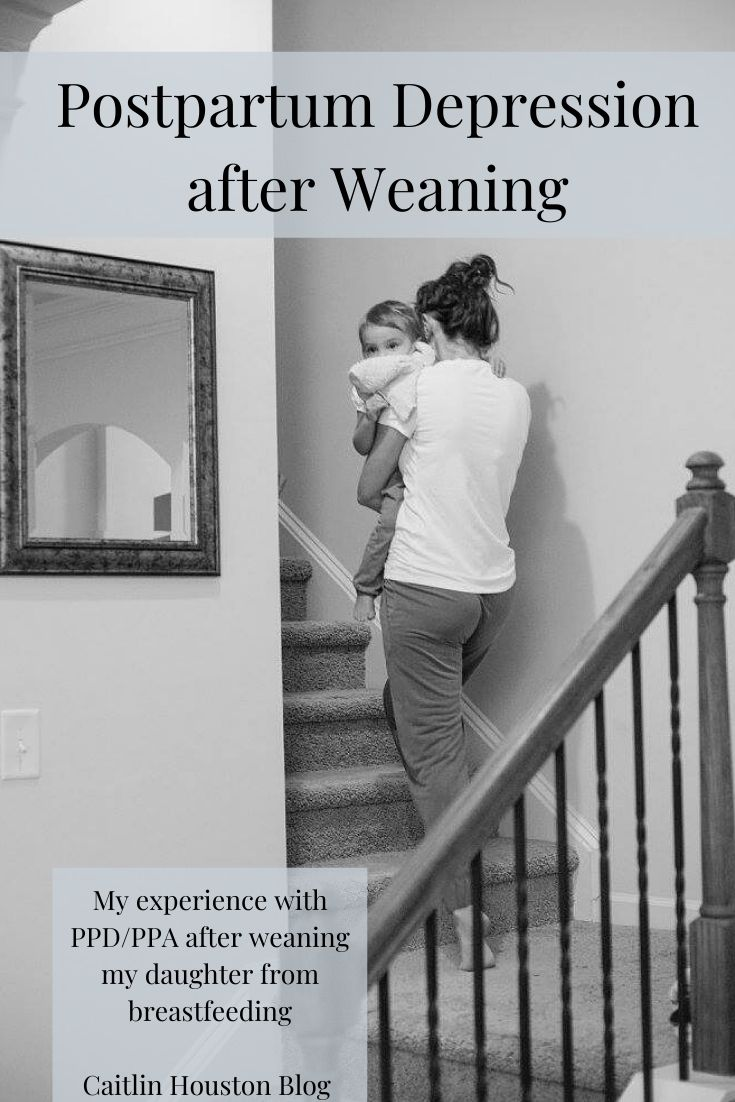 Postpartum Depression while Weaning from Breastfeeding