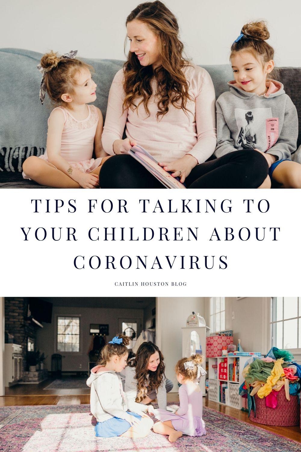 Tips for Talking to Your Child about Coronavirus - This post shares ways to help your child cope with life changes due to the pandemic.