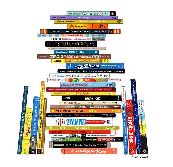 Ideal Bookshelf Books on Anti-Racism