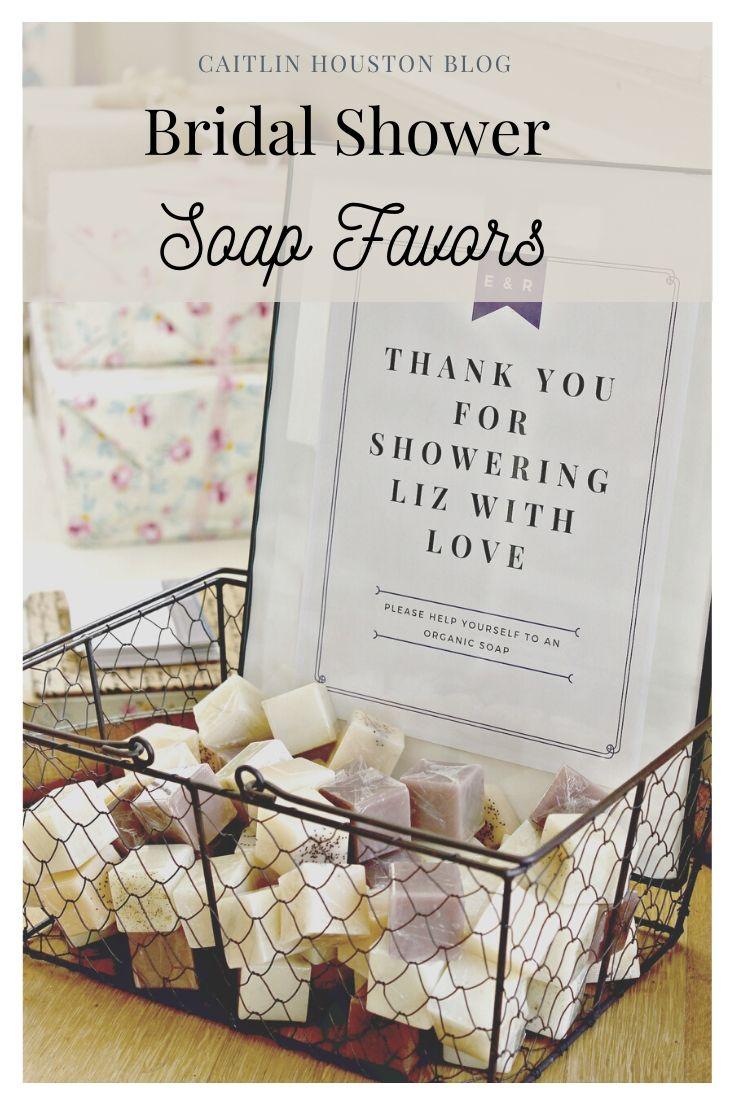 Rustic Romantic Bridal Shower - Bridal Shower Soap Favors