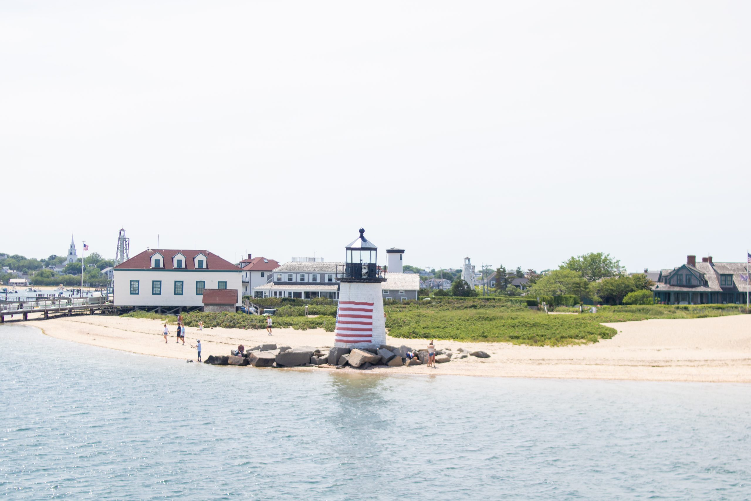 Brant Point Lighthouse Nantucket Island