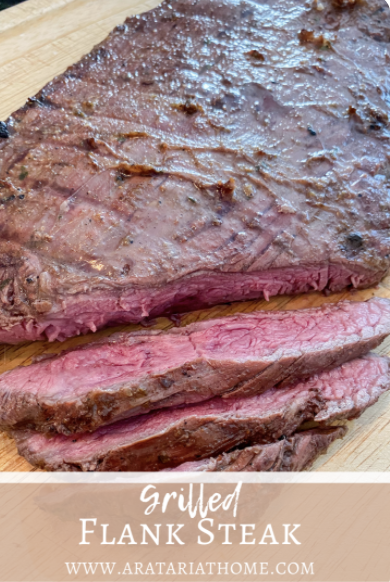 Grilled Flank Steak Recipe for summer