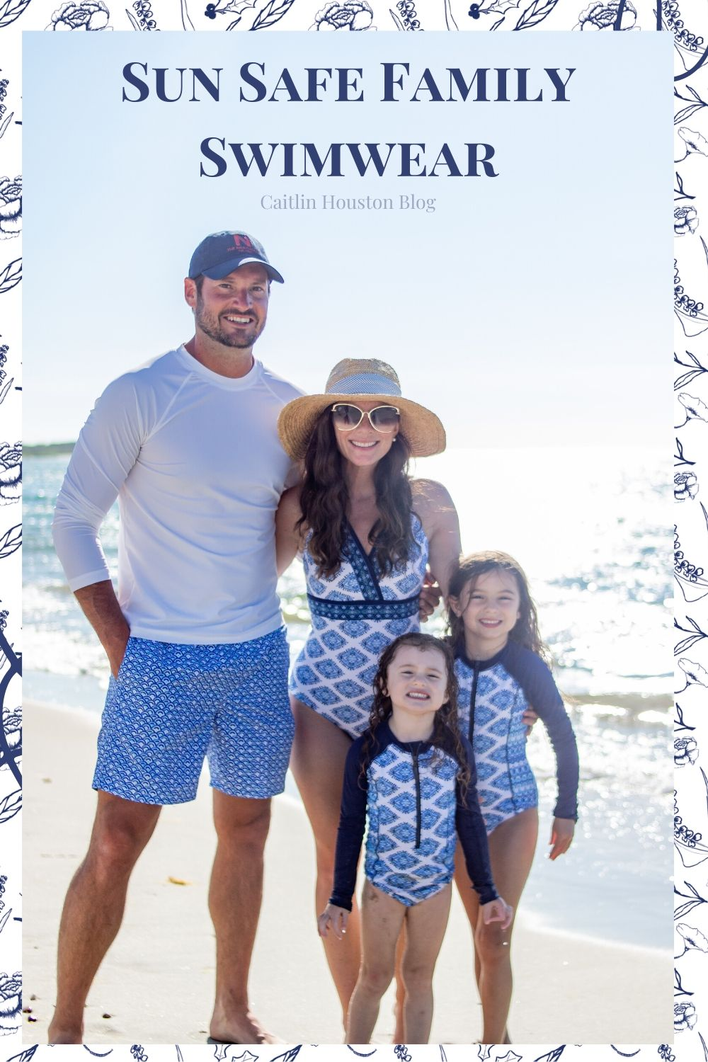 Sun Safe Matching Family Swimwear