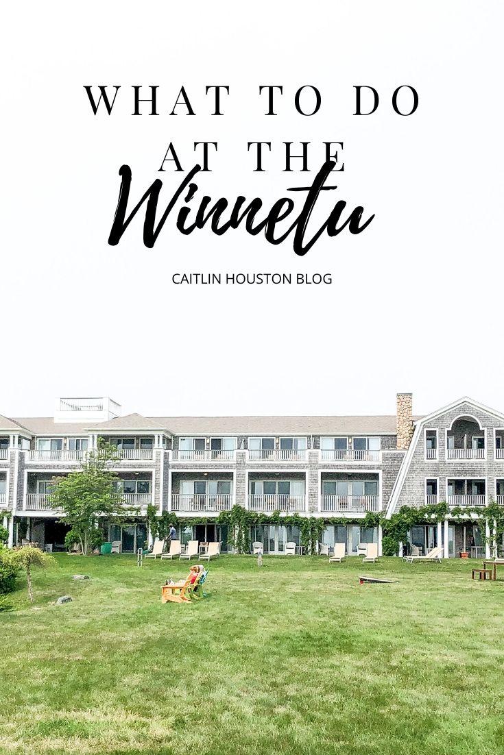 What to Do at the Winnetu Oceanside Resort Martha's Vineyard