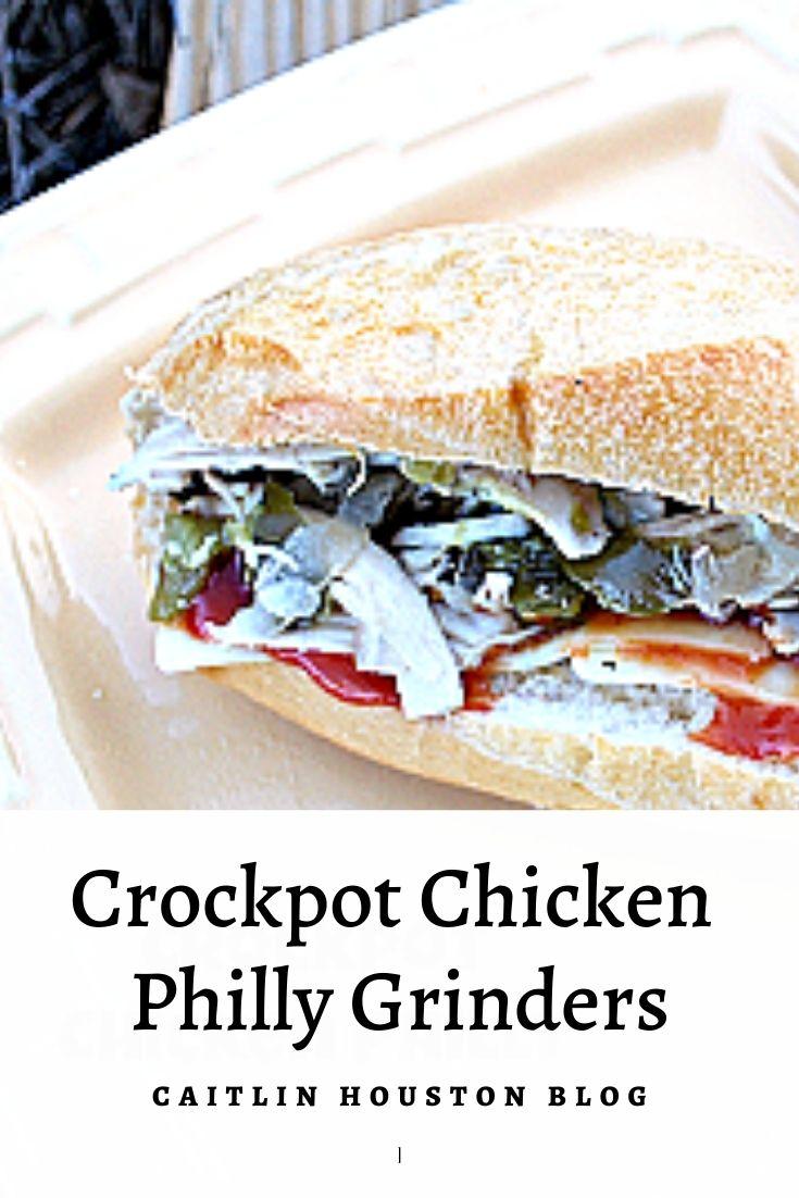 Crockpot Chicken Philly Grinder Recipe