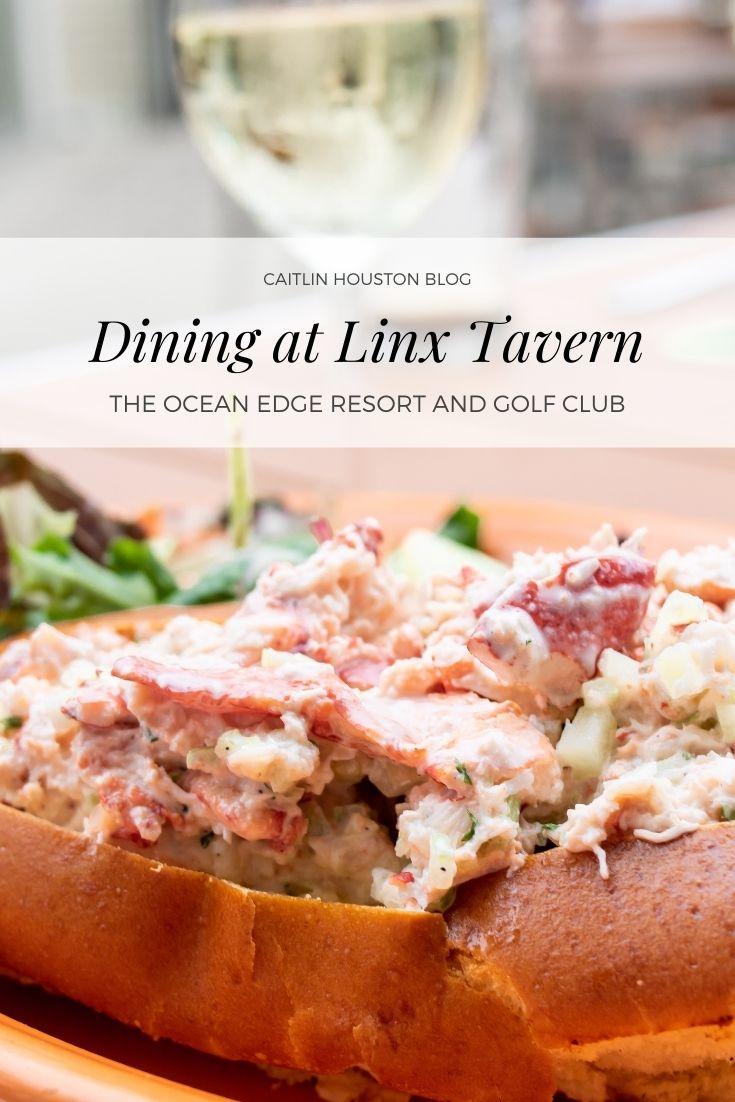 Dining at Linx Tavern Cape Cod