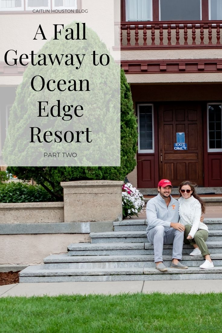 Are you looking to visit Cape Cod in the fall? Read Part TWO on our amazing fall getaway to the Ocean Edge Resort and Golf Club in Cape Cod.