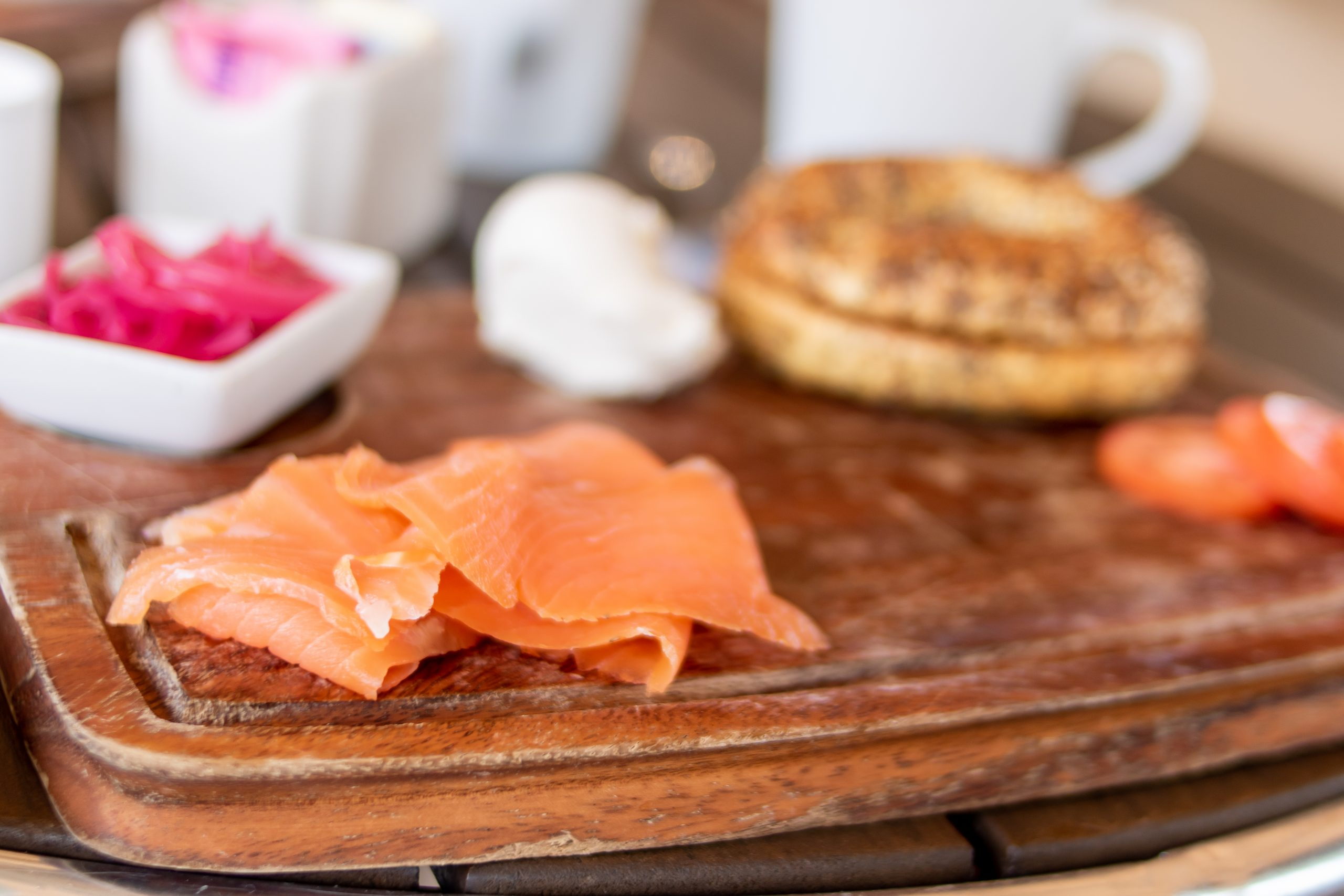 Brunch with Smoked Salmon at Ocean Edge Resort