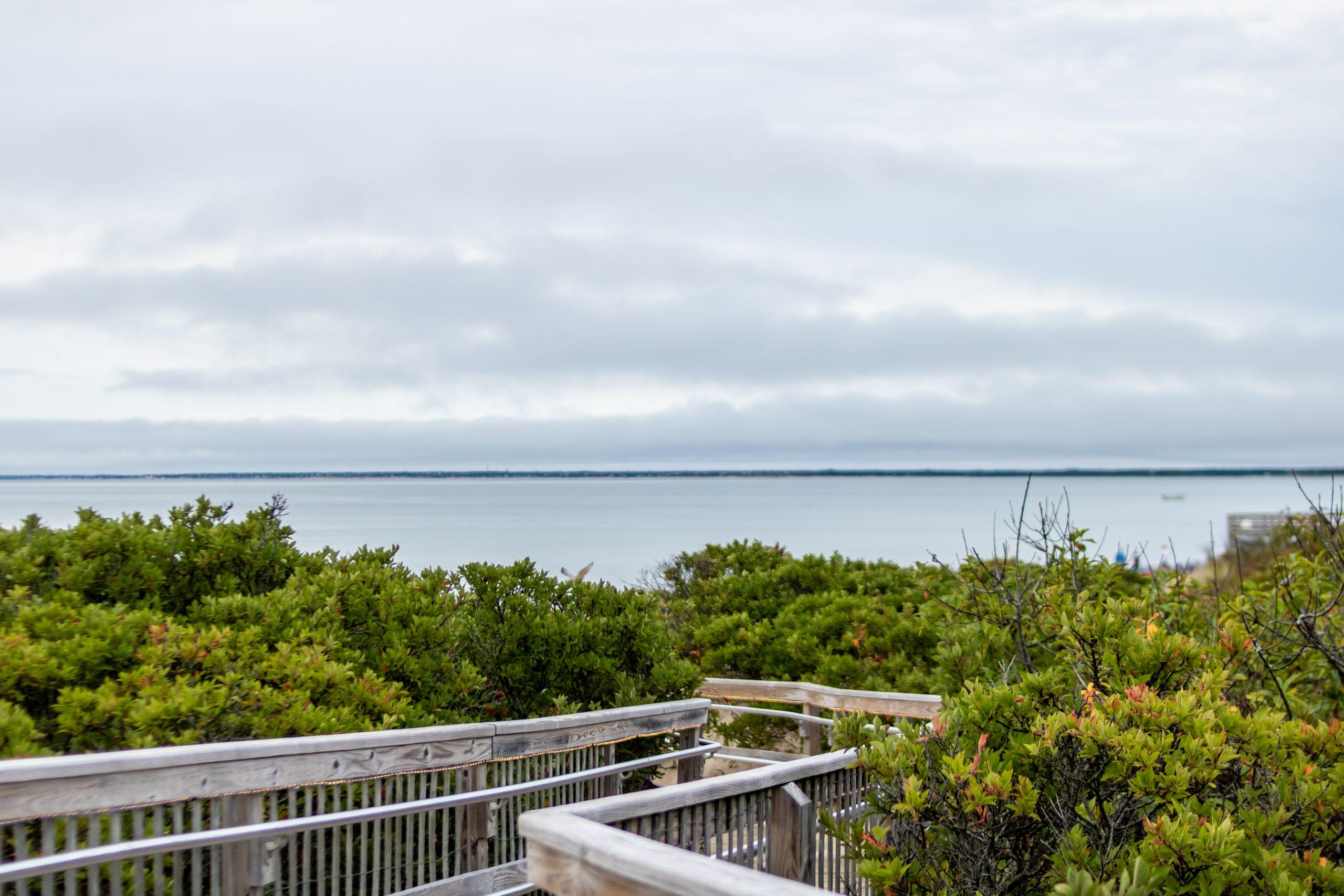 Ocean Edge Resort boardwalk to the beach