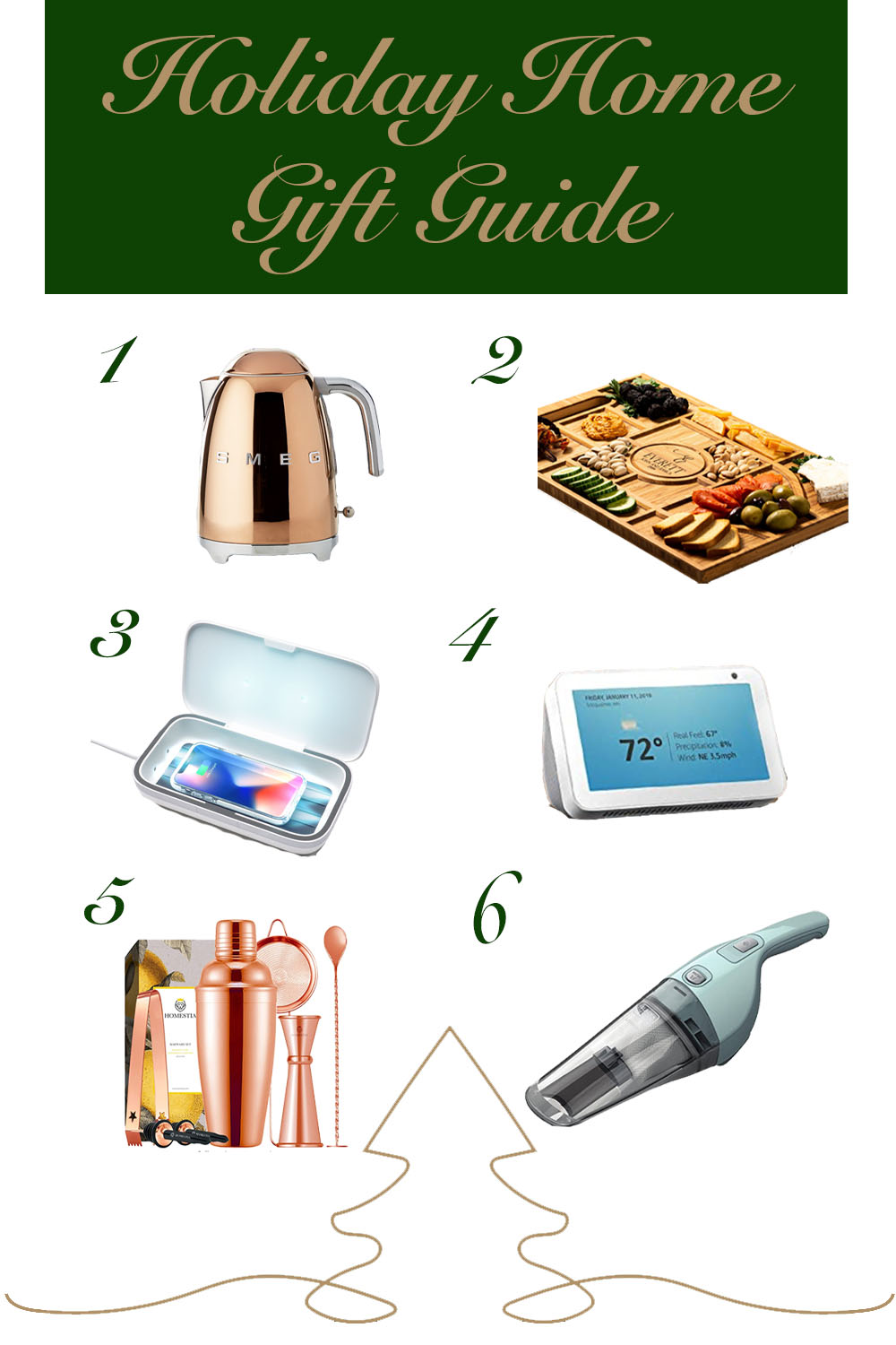 Best Gifts for the Home Holiday Gift Guide