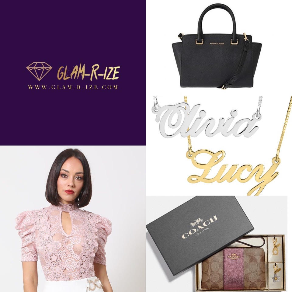 Glam-R-Ize is an online boutique featuring quality and designer clothing,