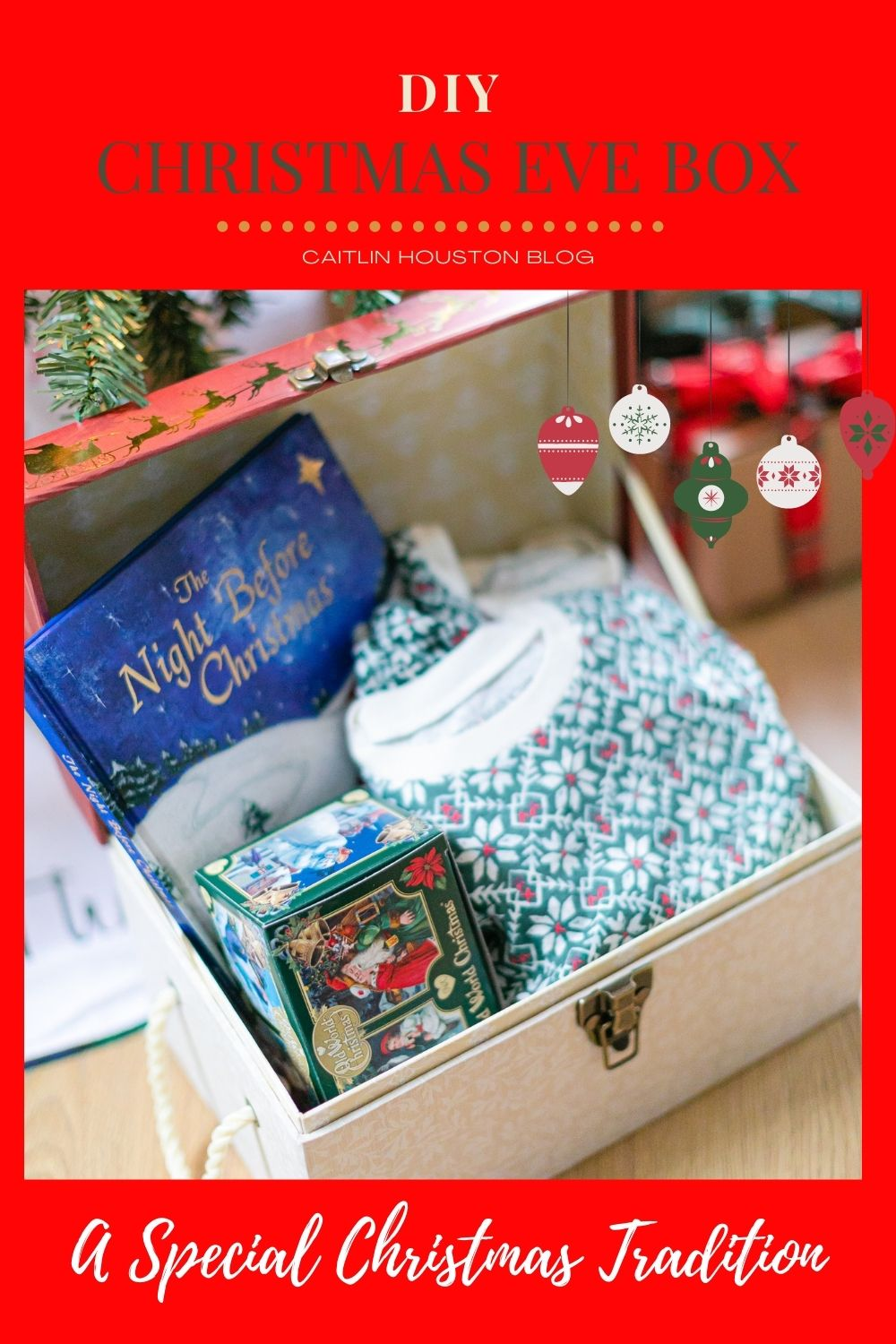Christmas Eve Box - Instructions on how to put together a special gift for children on Christmas Eve