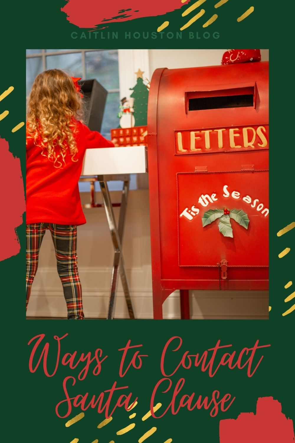 Ways to Contact Santa Clause - Safe and fun ways to contact Santa for the holidays