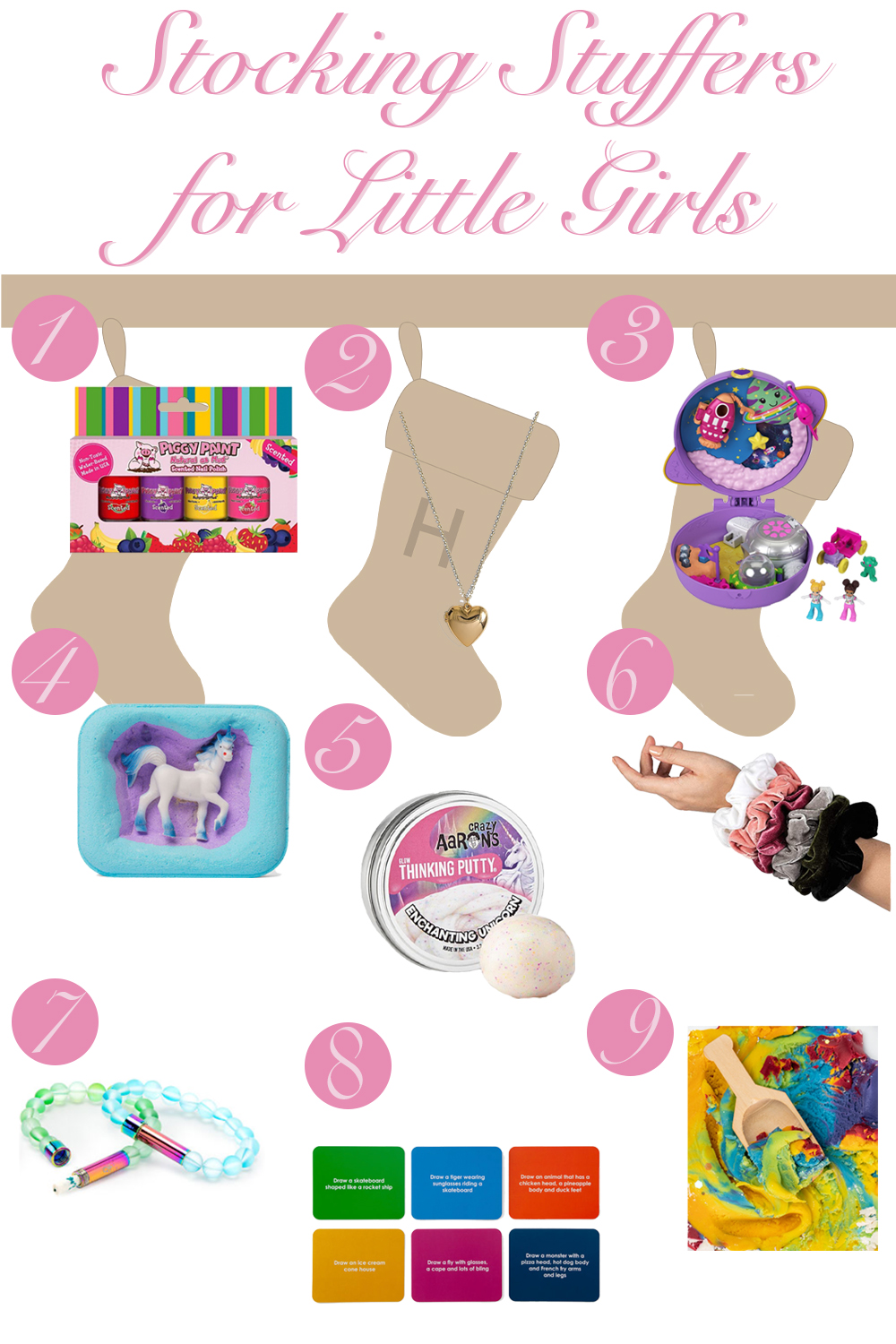 Holiday Gift Guide: Stocking Stuffers for Little Girls