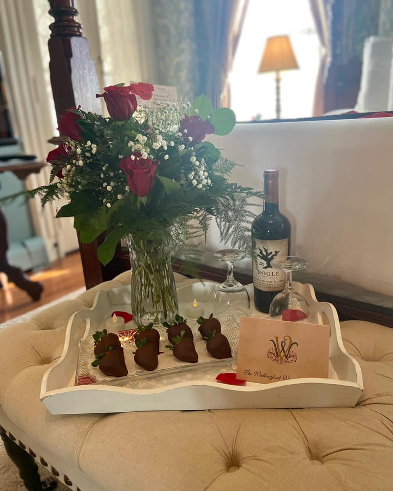 Wallingford Victorian Inn Valentine's Day package