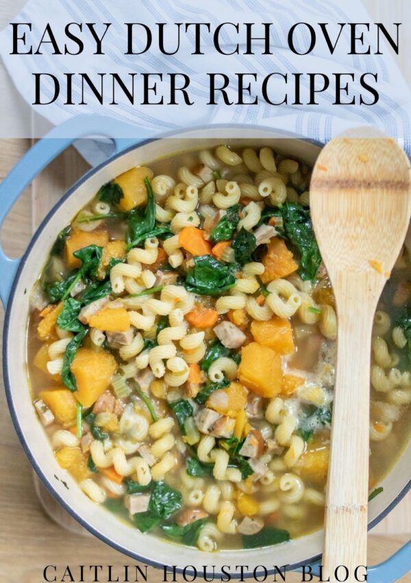 EASY DUTCH OVEN DINNER RECIPES