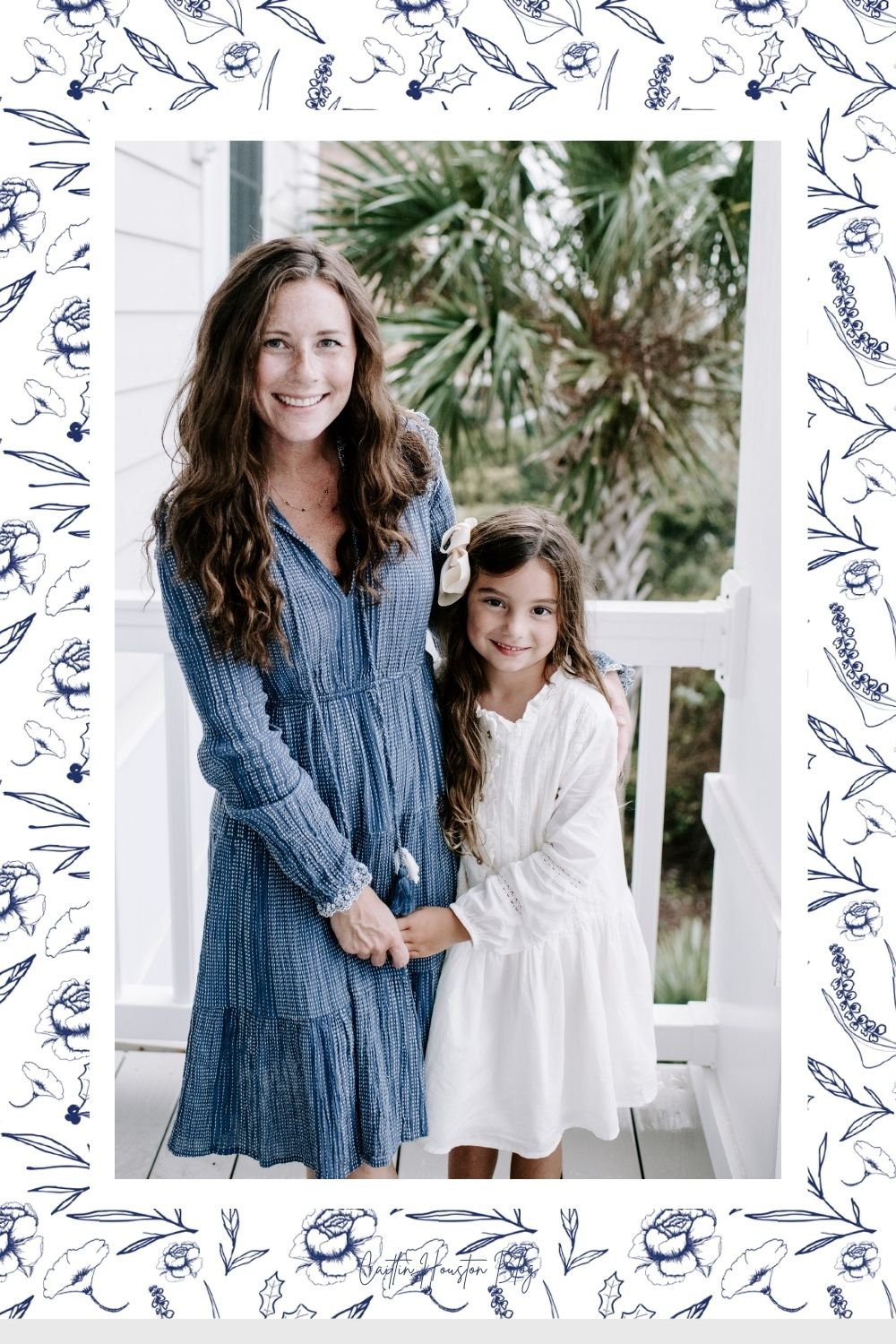 Mom and 7 year old daughter