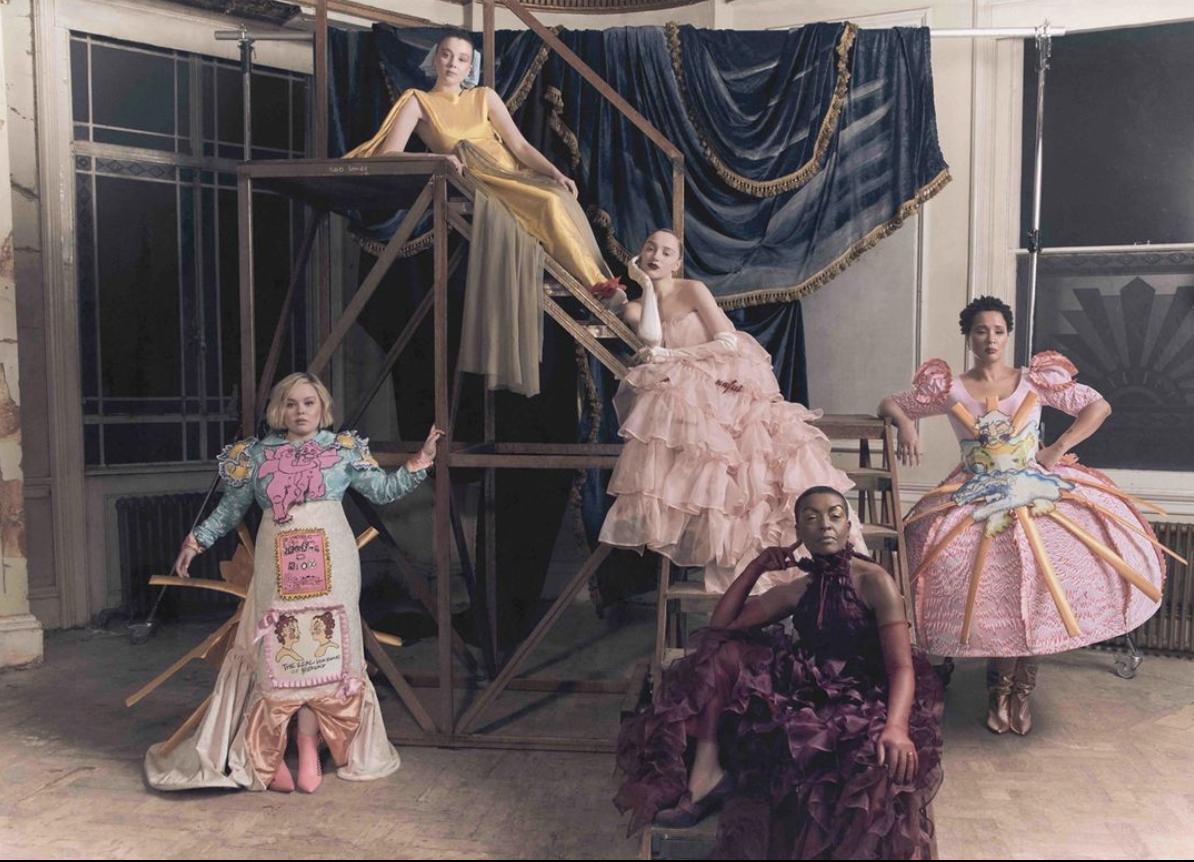 Bridgerton Cast British Council Fashion Spread