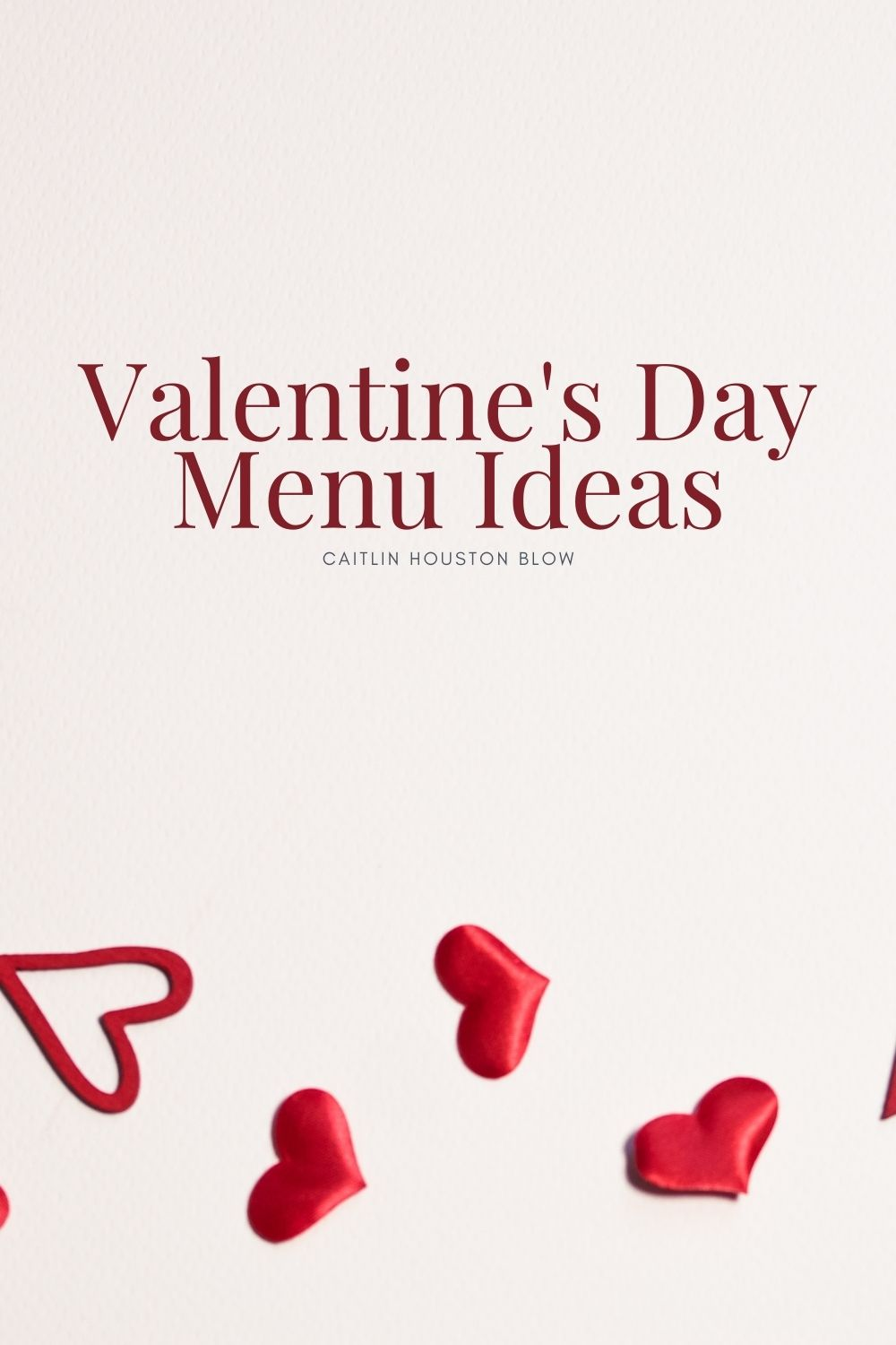 Valentines Day Menu Ideas