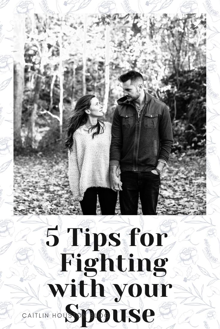 Tips for Fighting with Your Spouse