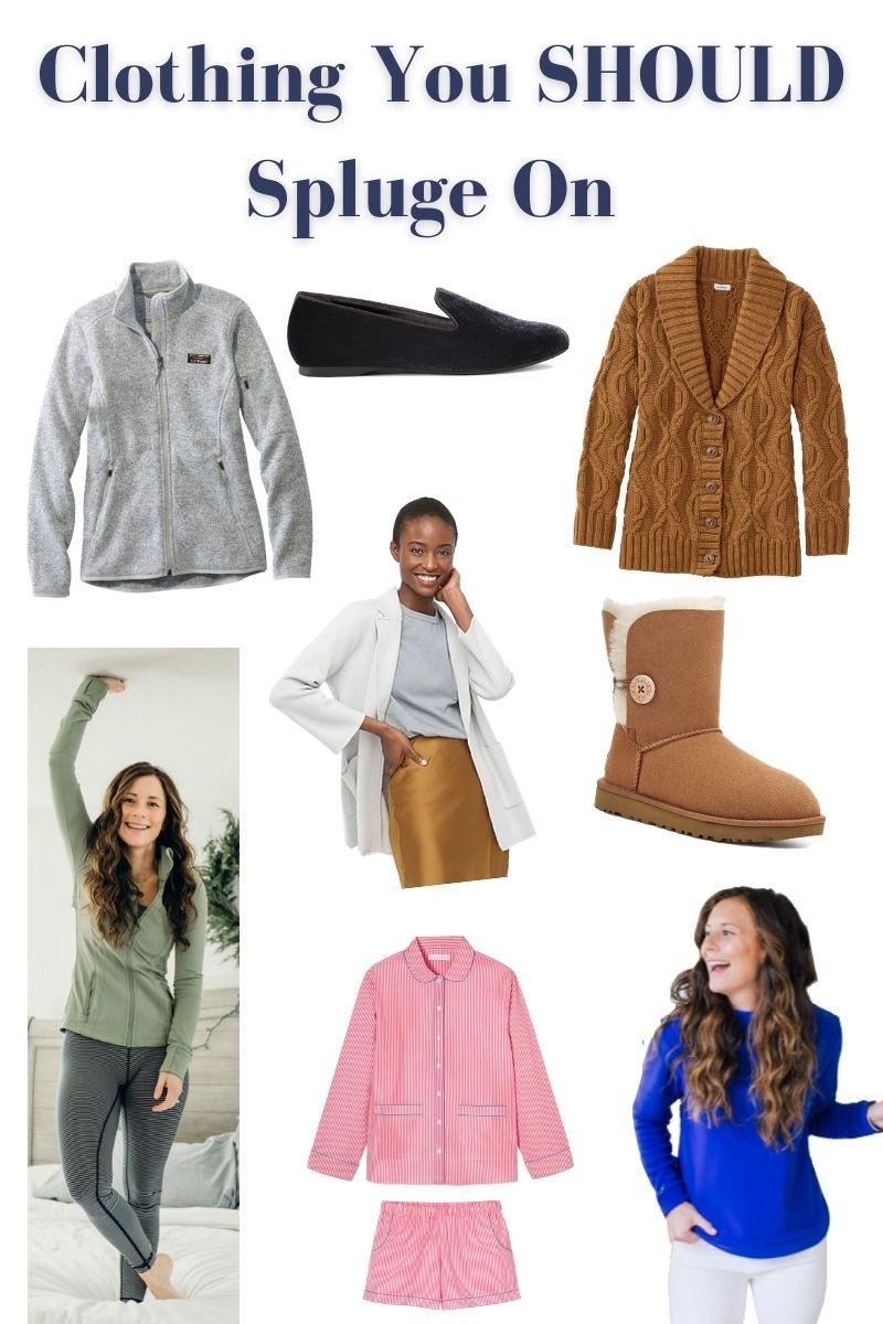 Clothing You Should Splurge On