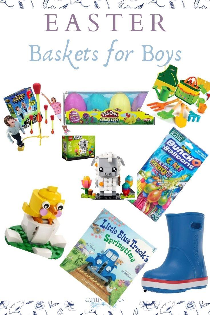 Easter basket toys for boys