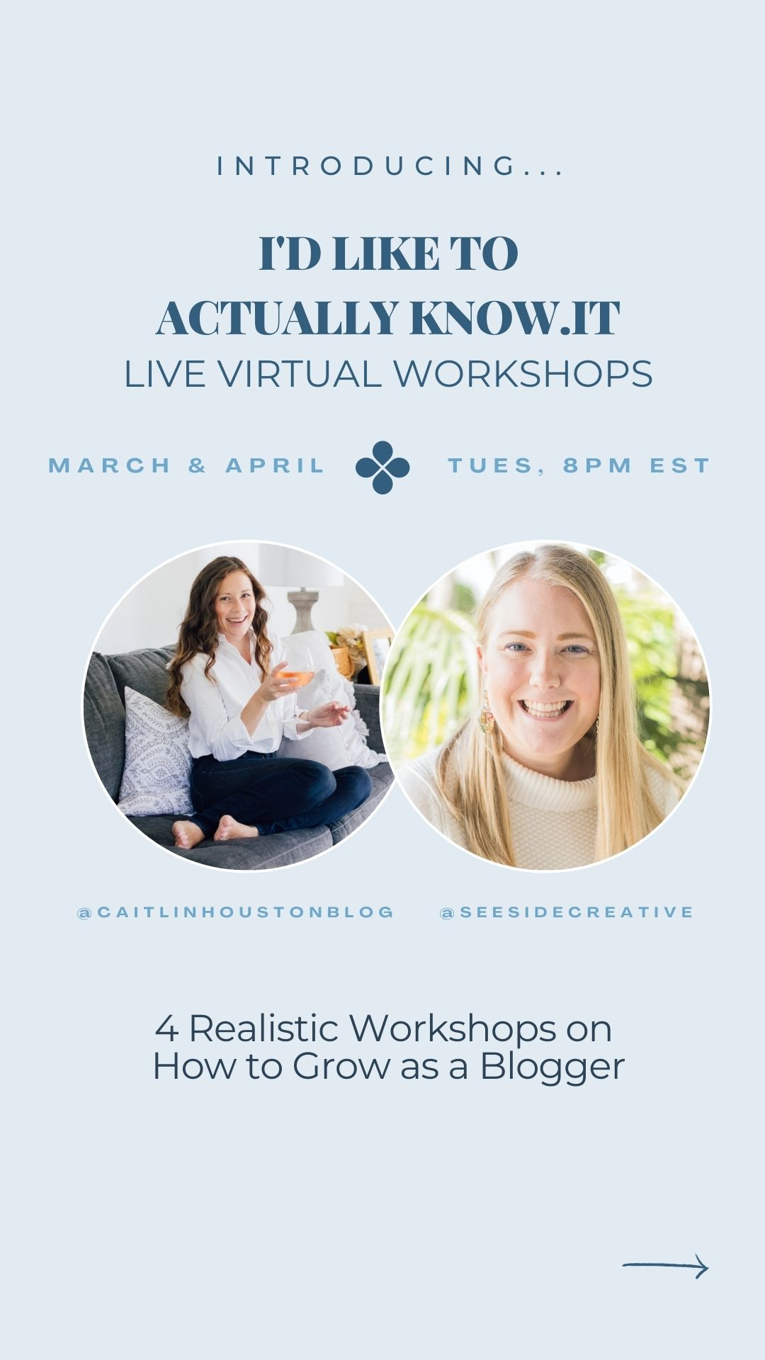 Caitlin Houston Blog and Seeside Creative Course